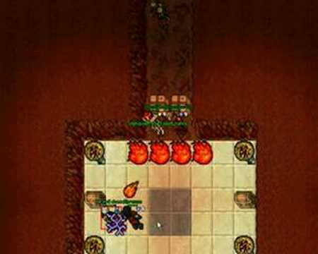 Tibia - Original Desert Quest Killing  PART 1/4