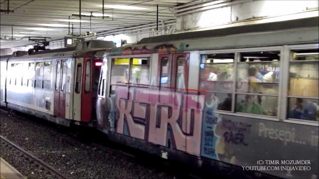 Circumvesuviana Trains Naples Italy Youtube