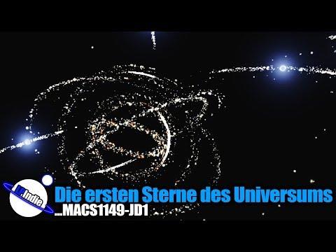 Die ersten Sterne des Universums nachgewiesen - MACS1149-JD1