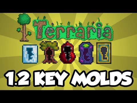 Terraria 1.2 Console Features - Key Molds / Dungeon Chests (Terraria Console 1.2 Update)