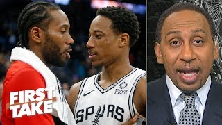 The Spurs look 'very bad' after Kawhi takes the Raptors to the NBA Finals – Stephen A. | First Take