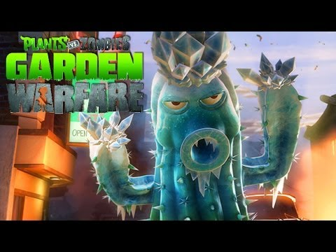 PLANTAS VS ZOMBIES: Garden Warfare   Cactus Gameplay [Parte 1] (Live 2.0 XBOX ONE Gameplay)