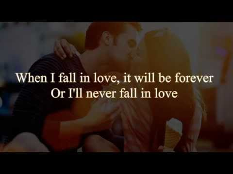 Natalie Cole & Nat King Cole - When I Fall In Love Lyrics
