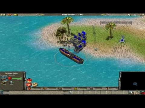 Let's Play Empire Earth ZDE [Amerikanische Kampagne] Flugzeugträger Angriff