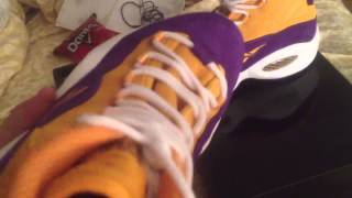 Reebok question mid sneakersnstuff sns exclusive lakers sho
