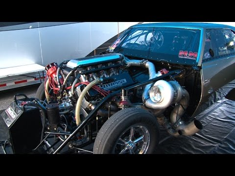 BAD A$$ 4000+hp Twin Turbo CAMARO - 3.95 @210mph!!!