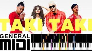 Pro Midi File Taki Taki Dj Snake Feat Selena Gomez Ozuna Cardi B