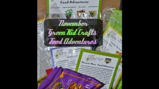 NOV Green Kid Crafts - Food Adventures