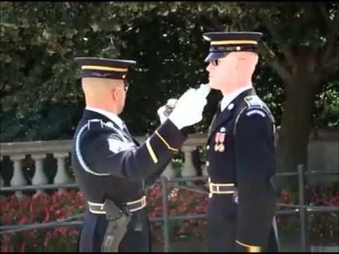 Staff Sergeant Adam Dickmyer 3rd US Infantry Regimient