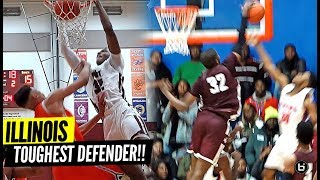 MOST LETHAL DEFENDER IN ILLINOIS!! OHIO STATE COMMIT EJ LIDDELL OFFICIAL BALLISLIFE MIXTAPE!!