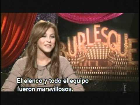 E! Special: Burlesque (subtitulado) parte 1/3