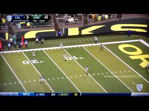 Oregon Highlights vs Cal 9/28/2013