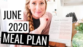 June 2020 Meal Plan on a Budget   What We Eat in a Month on a Budget