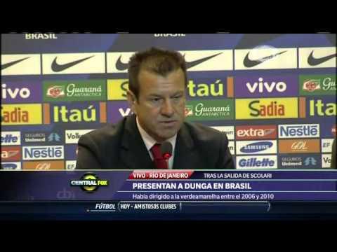 Dunga regresa con Brasil