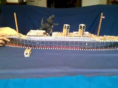 Godzilla Vs Titanic Youtube