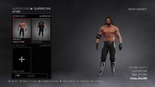 WWE 2K17 HOW TO MAKE AJ STYLES BACKLASH 2016 ATTIRE