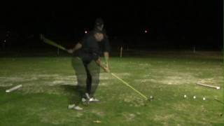 Athletic Golfer-Two Approaches to Hitting Driver-Hammer Man Style