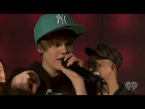 Justin Bieber eenie Meenie Feat. Sean Kingston [ & Legaci  ] (live) At Z100 video