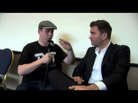 EDDIE HEARN TALKS SAUNDERS/ RYDER - LEE PURDY/ALEXANDER -DAVID HAYE INJURY &amp; FROCH/ KESSLER