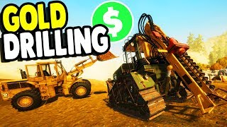NEW MAP & DRILLING GOLD - MAJOR UPDATE | Gold Rush Gameplay