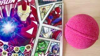 Surprise Egg MARVEL Disk Wars The Avengers Bath Salts