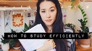 how to study efficiently and organise your revision || Mei-Ying Chow