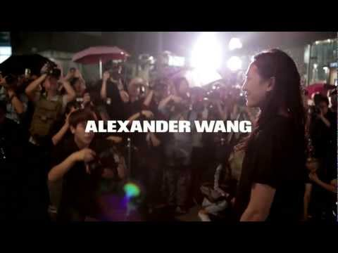 Alexander Wang Beijing, China Flagship Store with A$AP Rocky, Diplo and Penn Badgley.