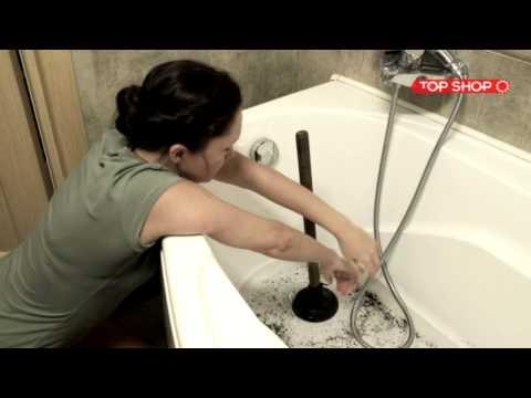 Избавится от засора в ванной в домашних условиях 197
