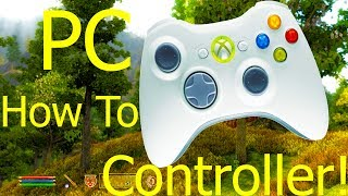 Oblivion PC Xbox 360 Controller Tutorial How To (Xpadder)