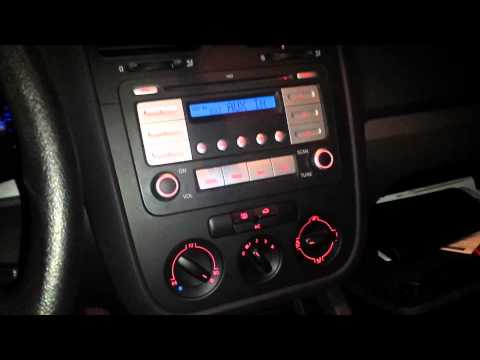 Aux port location 07+ VW jetta 2.5