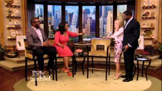 "Oprah Winfrey Makes Surprise Visit with Tyler Perry to ""LIVE with Kelly and Michael"""