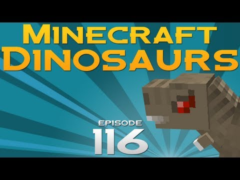 Minecraft Dinosaurs! - Episode 116 - Palm Tree Paradise