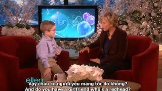 (Eng+Vietsub) (Phần 1) Ellen gặp cậu bé chuyên gia về Hệ Mặt Trời