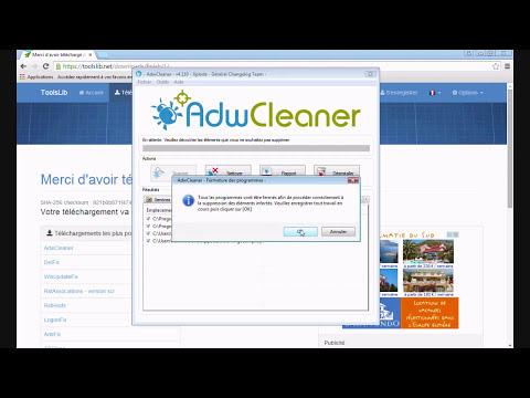 [ Tutoriel ] ADW Cleaner : Supprimer les Virus , Malwares et Toolbar ( FR - HD )