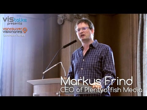 Markus Frind: CEO of Plentyoffish Media Inc.