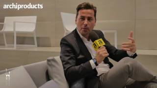 Salone del Mobile.Milano 2017 | GANDIA BLASCO - Fran Silvestre talks about Blau collection