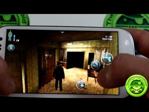 Max Payne Mobile For Android Game Review On The Samsung Galaxy S3
