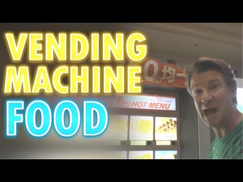 Vending Machine Food - Eric Meal Time #16