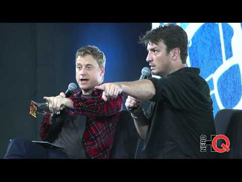 A Conversation with Nathan Fillion at #NerdHQ 2014