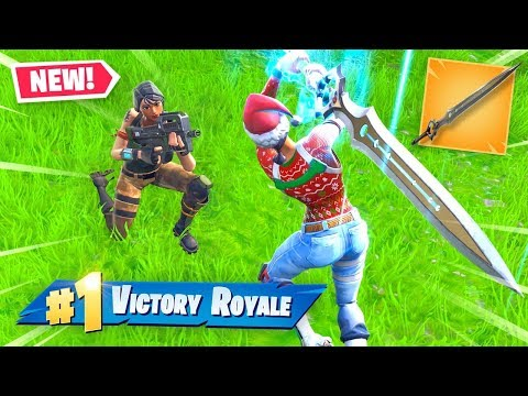 The Infinity Sword Is BROKEN! - Fortnite Battle Royale