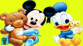 Baby Mickey Mause And Donald Duck Enjoyable Puzzle Game For Kids Juegos De Puzzle Para Niños