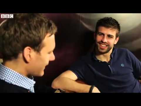 BBC One - Football Focus - Gerard Pique Extended Interview
