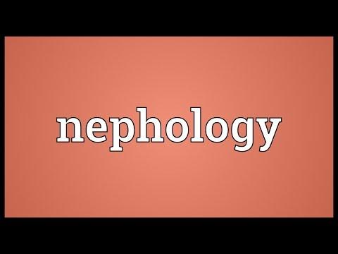 Header of nephology