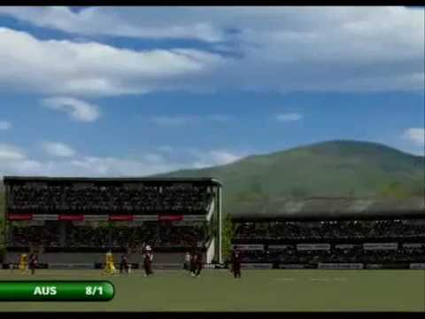 EA Sports Cricket 07 : How To Score A 4