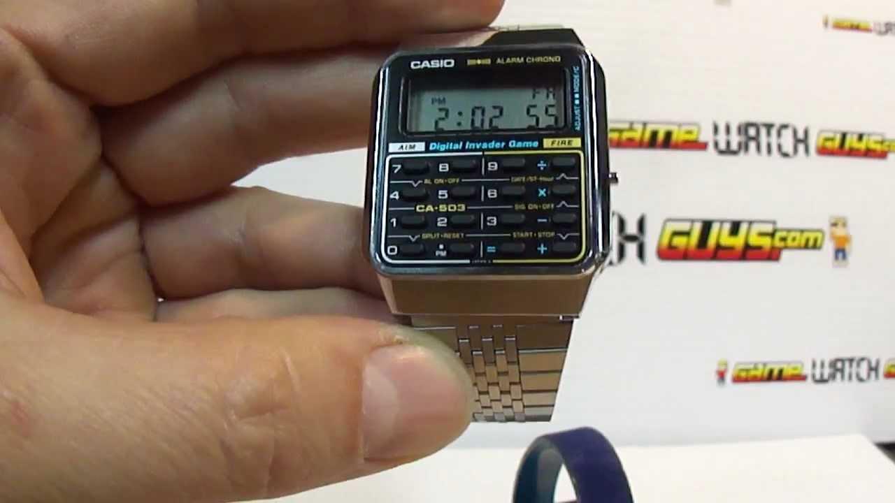 Calculator Watch Calculator Watch Ca-503