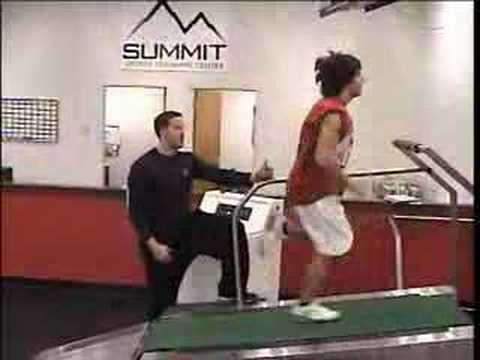Summit Sports Training Center - Treadmill Demo