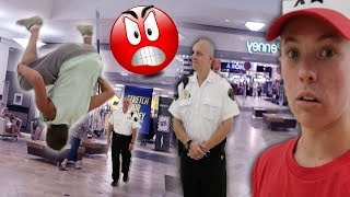 SECURITY WAS PISSED! *BANNED FROM MALL*