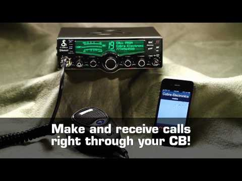 Cobra 29 LX BT CB Radio with Bluetooth Wireless Technology