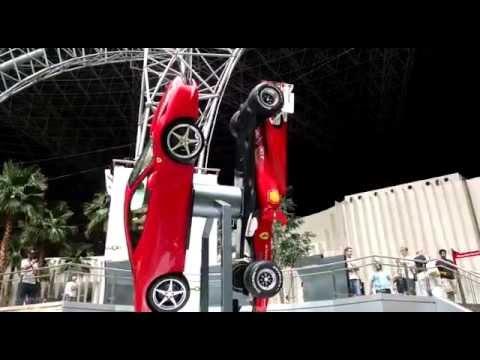 Ferrari 458 Italia Vs Ferrari F1 Rotating at
