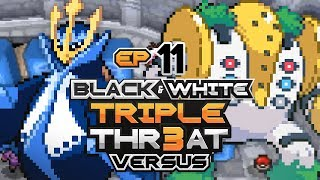 Pokémon Black And White Triple Threat Randomizer Nuzlocke Versus • w/ HDvee & PurpleFire • E11